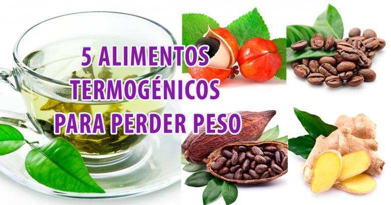 5 alimentos termogénicos para perder peso