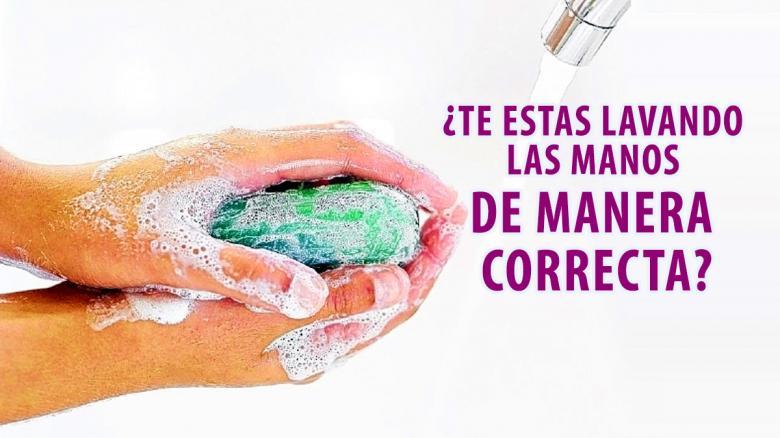¿Te estas lavando las manos de manera correcta?