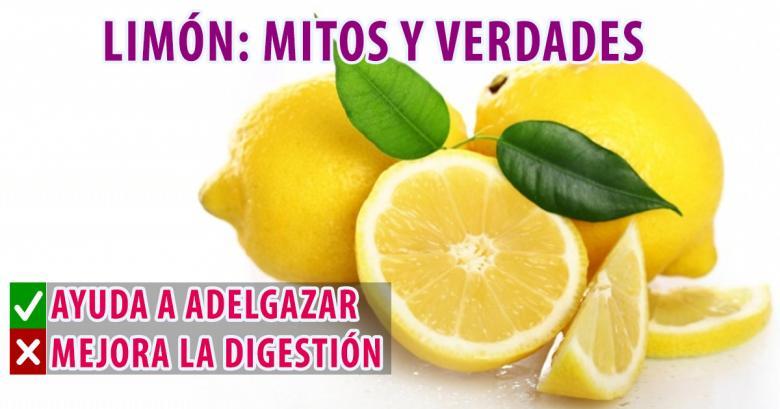 Limón: mitos y verdades