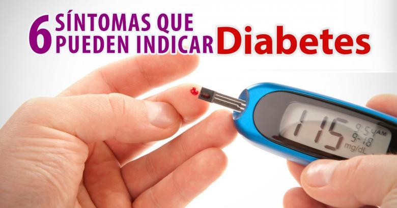 6 Síntomas que pueden indicar la presencia de diabetes