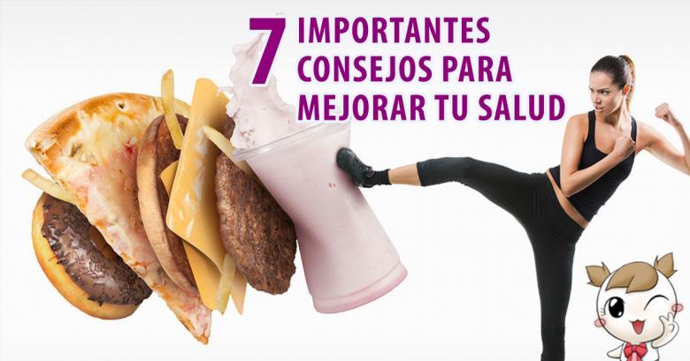 7 recomendaciones para reducir el riesgo de cáncer y de enfermedades cardiovasculares