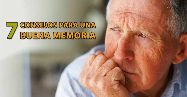 Siete consejos para una buena memoria