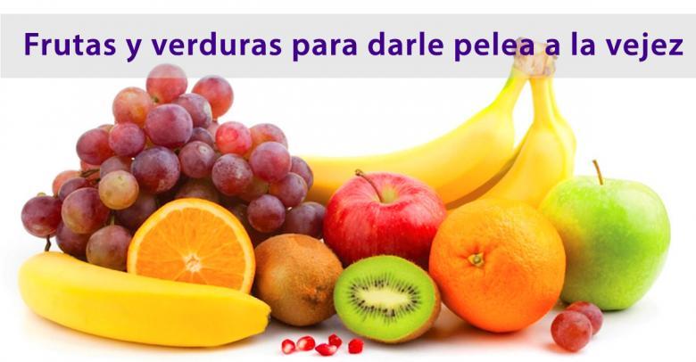 Antioxidantes: Frutas y verduras para darle pelea a la vejez