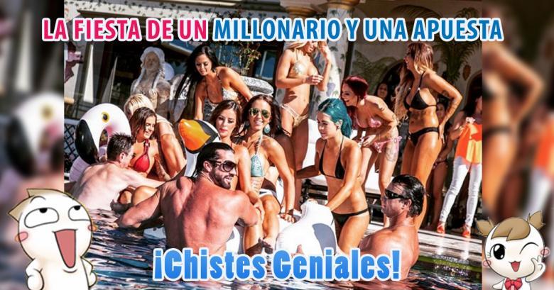 La curiosa fiesta de un millonario y una apuesta