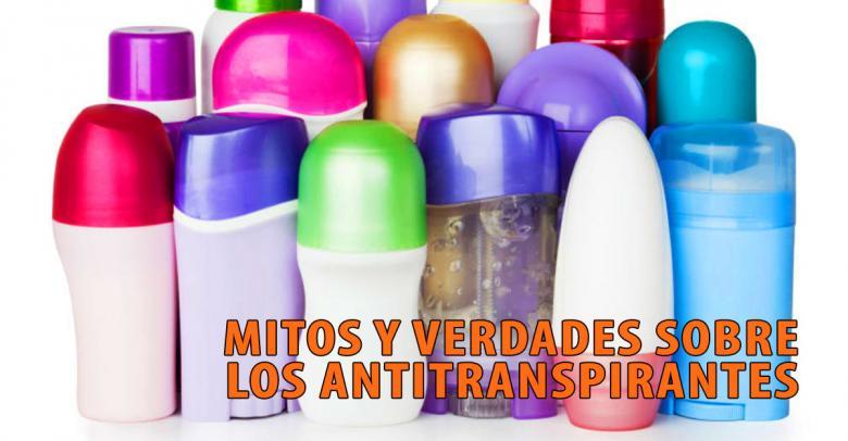 Mitos y verdades sobre los antitranspirantes