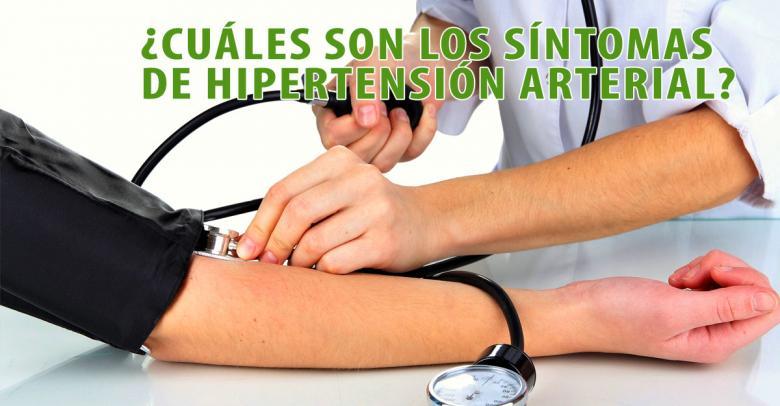 ¿Cuáles son los síntomas de hipertensión arterial?