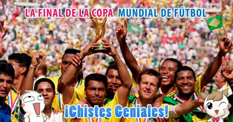 La final de la copa mundial de fútbol