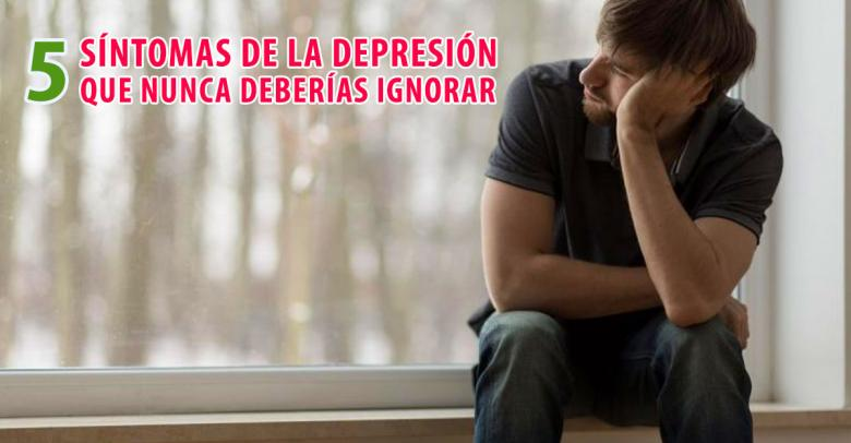 5 síntomas de la depresión que nunca deberías ignorar