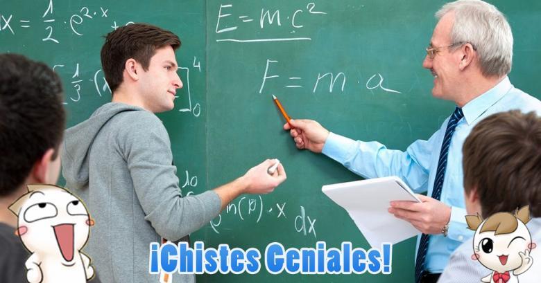 Un alumno le da una lección al profesor