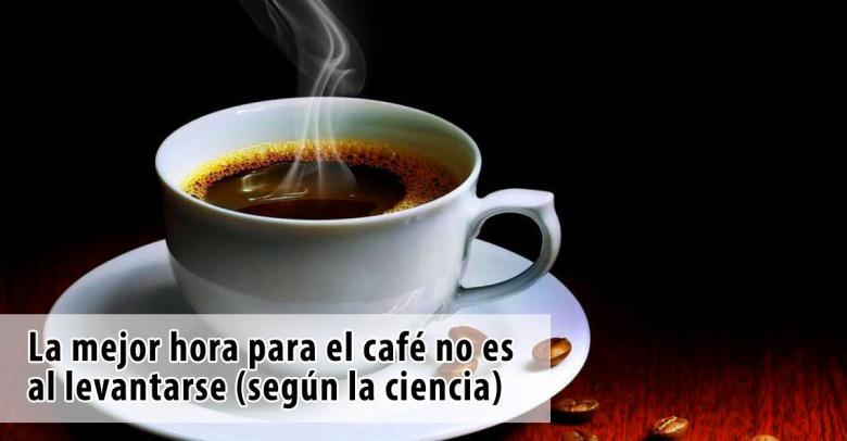 La mejor hora para el café no es al levantarse (según la ciencia)