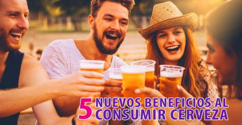 Nuevos motivos para tomar cerveza: 5 beneficios para tu salud