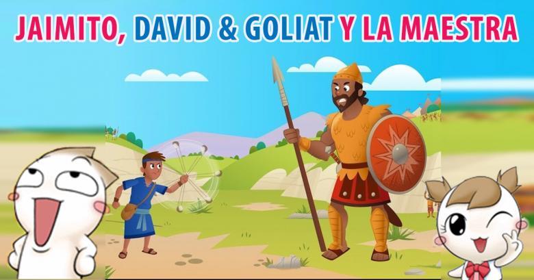 Jaimito, David & Goliat y la maestra pretenciosa