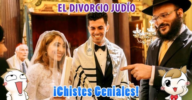 Chistes Geniales: Un divorcio judío y la raza humana