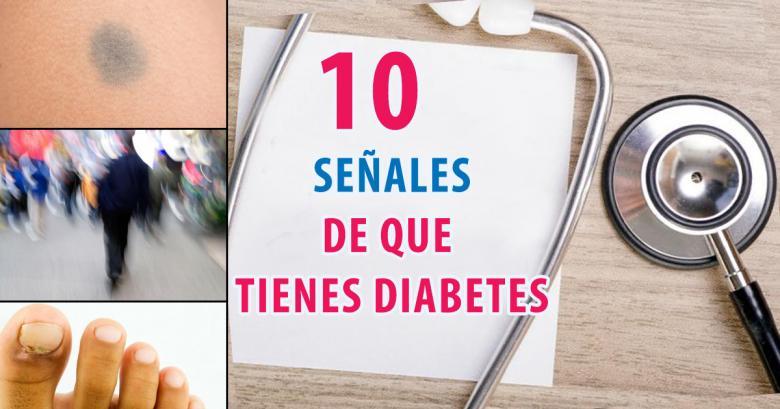 10 señales de que tienes diabetes