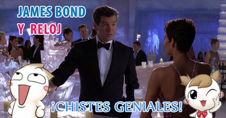 James Bond haciendo de las suyas