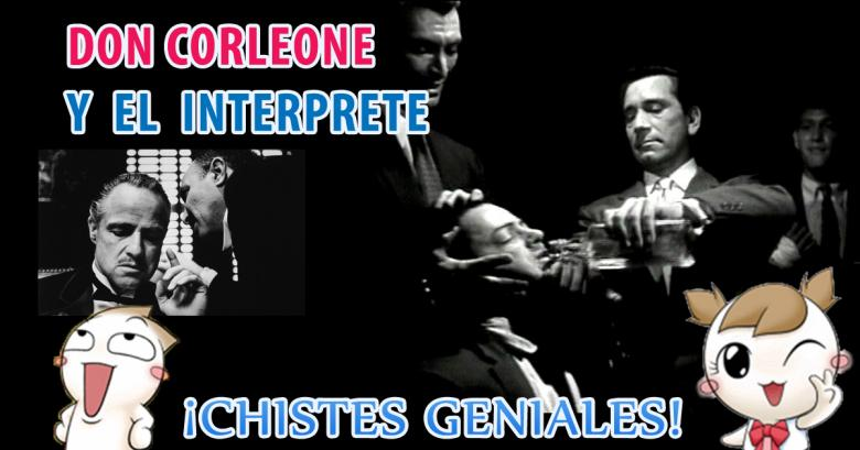 Don Corleone y el interprete