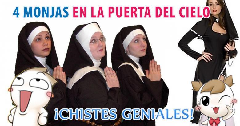4 Monjas en la puerta del cielo
