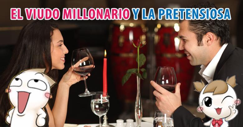 El viudo millonario y la señorita pretenciosa