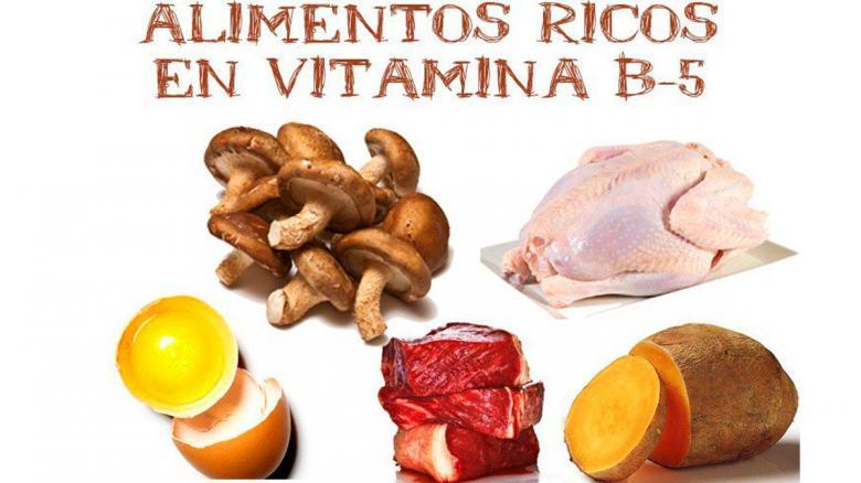 Hablemos de vitaminas: Vitamina B5