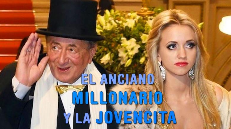 El anciano millonario y su esposa jovencita