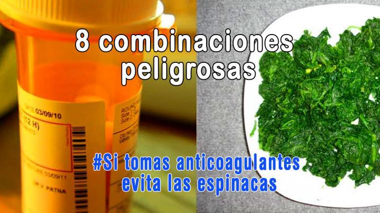 8 combinaciones peligrosas que debes saber al tomar medicamentos