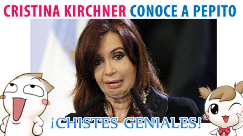 Cristina Kirchner conoce a pepito