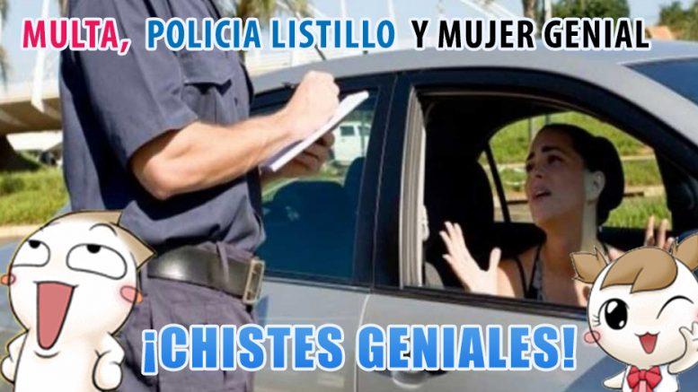 humor-una-multa-un-policia-listillo-y-mujer-genial-no-te-lo-pierdas-humor-multa