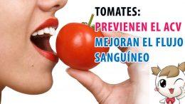 Tomates previenen el ACV y mejoran el flujo sanguíneo