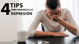 4 Tips para ganarle a la depresión
